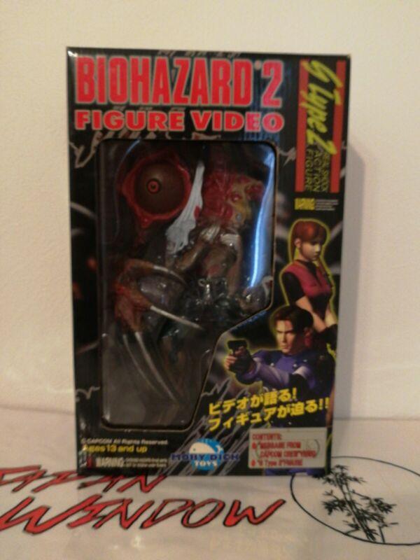 Biohazard 2 Resident Evil Birkin Figure Moby Dick G Type 2 VHS Japan Exclusive