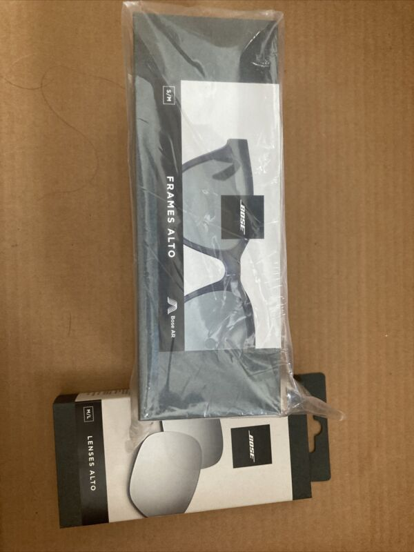 bose alto smart glasses/ Bundle W Lenses