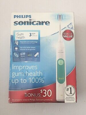 New Philips Sonicare 3 Series Gum Health Electric Toothbrush HX6631/02
