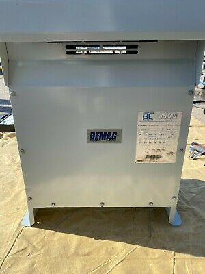 Bemag 15kva Uc3015v 3 Phase Transformer Primary Voltage - 600