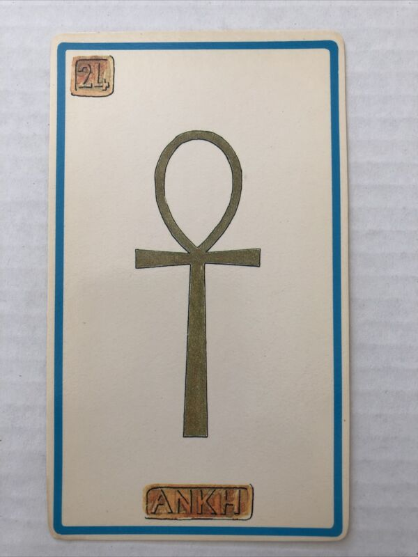 Cartouche Ankh Card 24 Single Card Only No Box