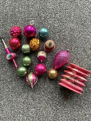 vintage christmas decorations 1960s