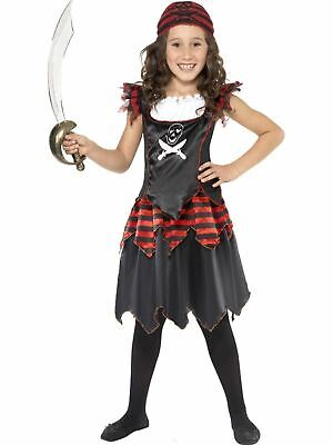 Girls Pirate Buccaneer Costume Kids Fancy Dress Outfit Book Week Party Dressup](Kids Dressup Clothes)