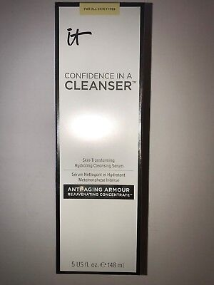 IT COSMETICS CONFIDENCE IN A CLEANSER  - FULL SIZE- NIB 5oz