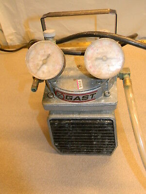Gast Doa-p104-aa Pump Sold For Parts Rough