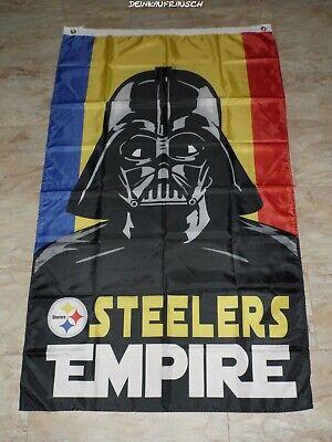 Pittsburgh Steelers NFL Fahne / Flagge - Football - ca. 90x150cm  - #2 - NEU