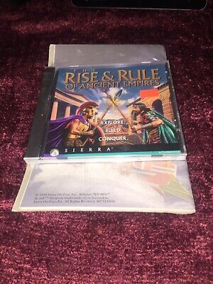 The Rise and Rule of Ancient Empires PC 1996 CD  W Manual (The Rise & Rule Of Ancient Empires)