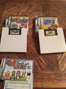 Mario 1,2,3 for gameboy advanced with box