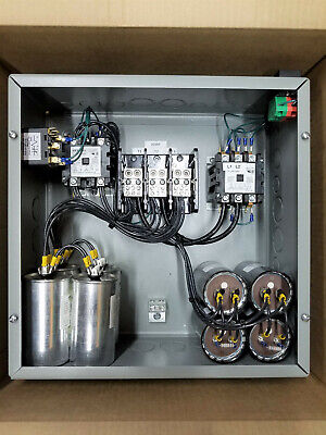20hp Cnc Balanced 3 Phase Rotary Converter Panel 10 Year Warranty