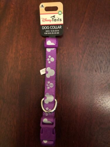 Disney Tails Purple Mickey Mouse ears dog collar dogs 20 To