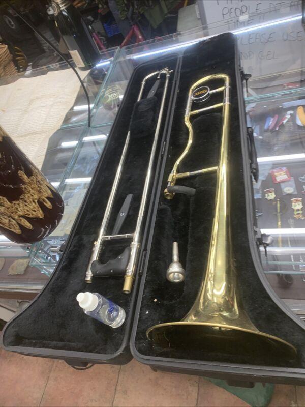 Jupiter JSL 438 ERGONOMIC Trombone And Case FREE U.K. POSTAGE