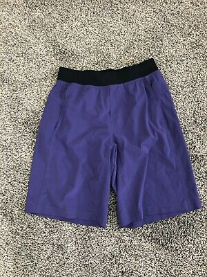 lululemon Mens Athletic Shorts Sz Medium Purple PERFECT!