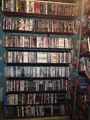 HUGE MOVIE COLLECTION DVD LOT-THOUSANDS OF TITLES-AS LOW AS $3.29 EA-W/FREE SHIP