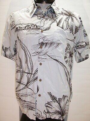 BILLABONG Mens medium M 70%-Bamboo Island Button-up shirt Combine ship Discount