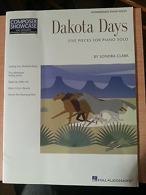 """Dakota Days"" - 5 Pieces for Solo Piano by Sondra Clark - Hal Leonard"