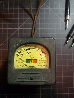 Antique Triplett Acdcphase Rotation Tester Model 337-avp