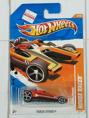 Hot Wheels 2011 Track Stars Honda Racer 4/15 Orange 68/244 - H330