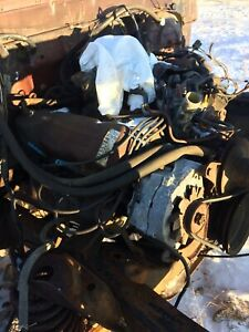 1978 Ford 351M engine and transmission