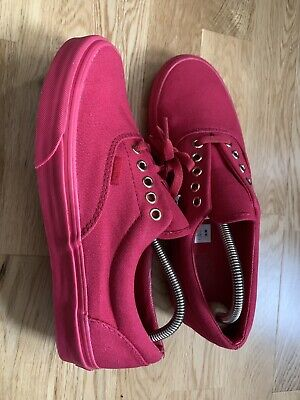Vans Shoes trainers pink Womens SIZE 8 UK