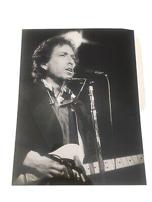 Bob Dylan Vintage Photo Lot- Bob Gruen 1970's Retro Hard To Find