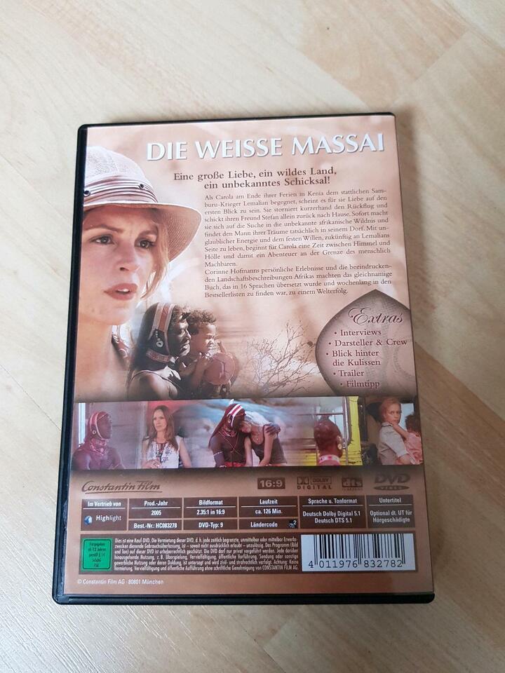 DVD Die weisse Massai in Grüna (Sachsen)