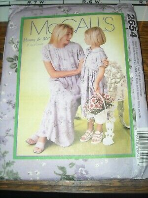 Mommy And Me Easter Dresses ( 💐 McCALL'S #2654 - 'MOMMY & ME