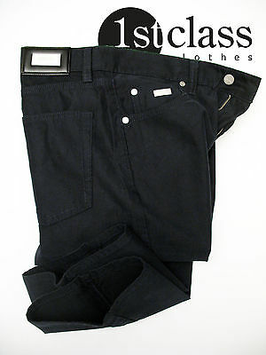 Boss Black, Aus Baumwolle (BOSS BLACK Jeans ALABAMA in 32/30 dark blue aus griffiger Baumwolle)