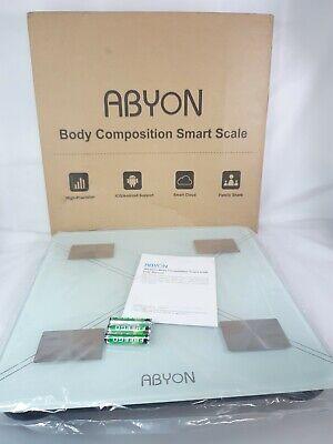 Bluetooth Smart Bathroom Scales for Body Weight Digital Scale, BMI