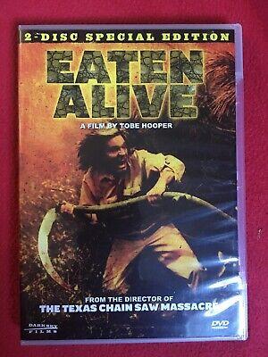 EATEN ALIVE 1976 DVD X 2 SPECIAL EDITION DARK SKY TOBE HOOPER
