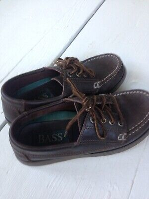 Bass Kids Leather Shoes Size 1 M Bass Kids Shoes