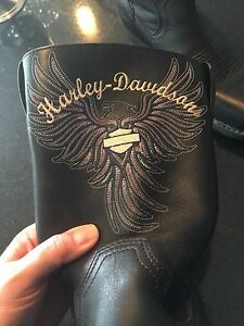 Harley Davidson Women's Riding Boots- new