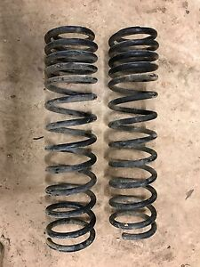 """Jeep JK 3.5"""" springs Cherryville Adelaide Hills Preview"""