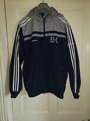 """Adidas """"83-C"""" Rare Hooded Jacket Size Medium"""