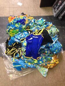 Lot of kids swimwear