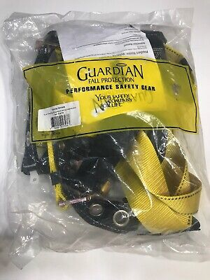 Guardian Fall Protection 01703 Velocity S-l Construction Harness New