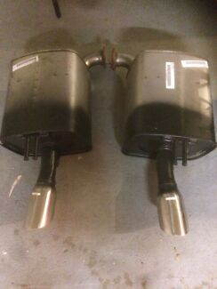 Vf/Ve Ss standard rear mufflers