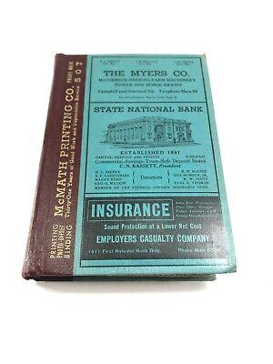 El Paso Texas 1942 City Directory - Hudspeth Co.  FREE SHIPPING