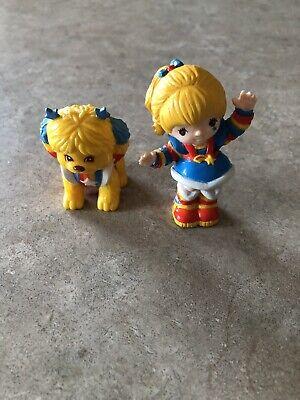 1983 Rainbow Brite & Puppy Brite Figures Cake Toppers NWOT!