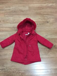 Size 2 red jacket