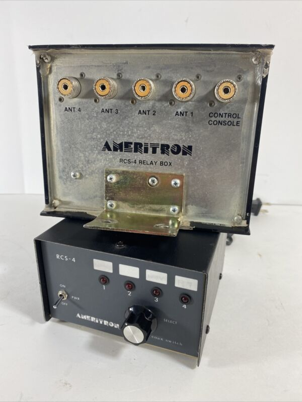 Ameritron RCS-4 Remote Antenna Switch with (4) Antenna Connections