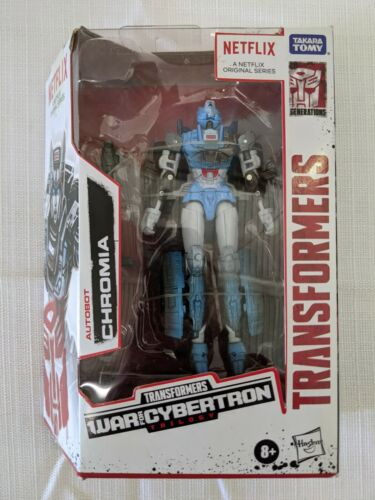 Transformers Generations War for Cybertron Series-Inspired Chromia Figure