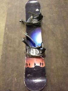 Firefly eclipse snowboard with bindings
