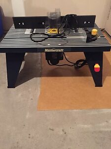 Plunge Router and Table - Never Used