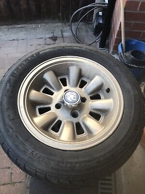 Vauxhall Chevette Hs alloy wheels with tyres