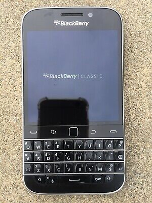 Unlocked Blackberry Classic Q20 AT&T 16GB 4G LTE.