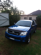TOYOTA HILUX SR V6 MANUAL DUAL CAB 2008 MODEL St Marys Penrith Area Preview