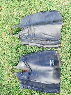 Black Ariat leather Chaps Dangarsleigh Armidale City Preview