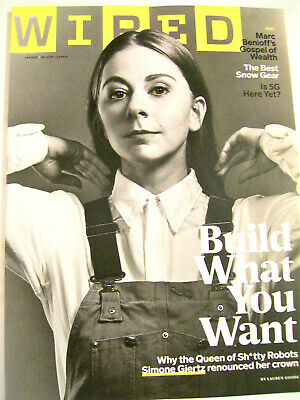 WIRED Magazine January 2020  Build What You Want, Best Snow