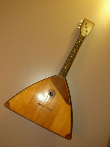 Vintage Chernihiv Balalaika 3 string named after Pavel Postyshev G-7