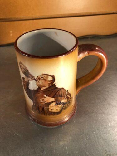 Vintage Monk Tankard, Mug - Brown, Drinking